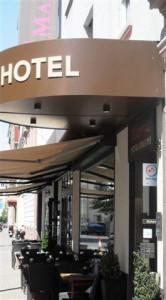 Hotel Maingau Eingang