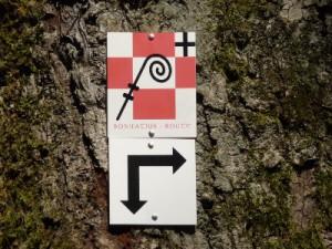 Logoschild Baum klein